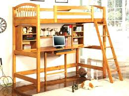 metal bunk bed with desk underneath. Wooden Bunk Beds With Desks Underneath Metal Bed Desk  .