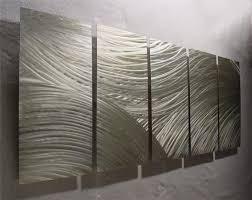 modern outdoor metal wall art ideas