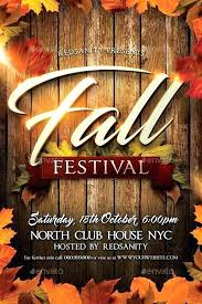 Fall Festival Flyers Template Free Fall Template Falling Leaves Nature Template Backgrounds Fall