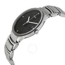 rado centrix jubile black diamond dial stainless steel men s watch rado centrix jubile black diamond dial stainless steel men s watch r30927713