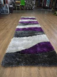 homey purple runner rugs handmade vibrant gray with area rug hand carved