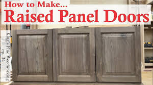 Cabinet Door how to build a raised panel cabinet door photos : 34 - Learn How to Make RAISED PANEL DOORS With solid wood. easy ...