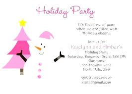 Holiday Staff Party Invitation Wording Sulg Pro