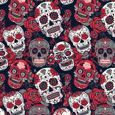 Skull Pattern Interesting Sugar Skull Pattern Sportswear Manufacturer Sports Apparel Factory