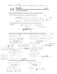 practice 3 6 form k compound inequalities hamilton local schools