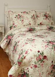 204 best bedding images on Pinterest | Baby quilts, Bedroom and ... & Chinese Rose Chic Shabby Cotton Quilt Adamdwight.com