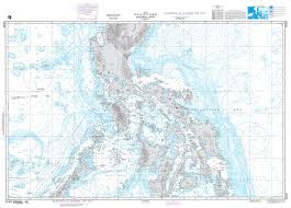 Nautical Charts Central America Nga Nautical Chart 91005 Philippines Central Part Bathymetric Chart
