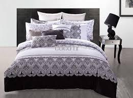 black ruffle bedding black ruffle duvet cov on ruffle duvet cov