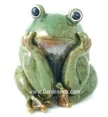 fine outdoor frog decor garden frog statues garden decor frog statues ceramic frog statue