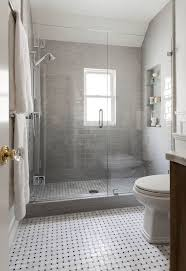 bathroom tile grey subway. Gray Subway Tile Bathroom Shower With Tiles Transitional Benjamin 2 Grey