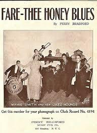 Fare Thee Honey Blues 1920 MAMIE SMITH and JAZZ HOUNDS SCARCE Sheet Music !    eBay