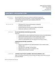 Sample Resume Accounts Payable Receivable Clerk Fresh Example Resume