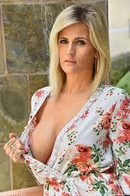 Big Tit Blonde Milf Outdoors