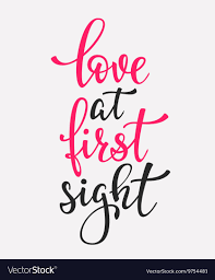 Love at fist sight