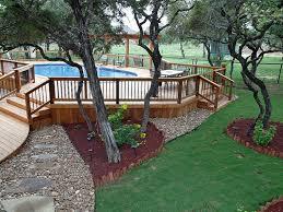 above ground pool decks. Exellent Above Free Above Ground Pool Decks Plans In