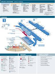 o'hare airport terminal  map