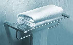 Chrome Towel Shelf with Towel Bar 2022
