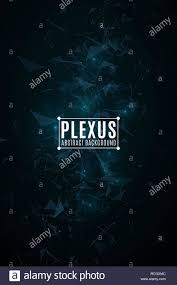 Science Poster Background Plexus Abstract Background Modern Futuristic Geometry