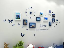 picture frame wall collage fashion wooden photo picture frame wall collage set of modern with wall