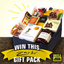 win a zarbo gift basket this month