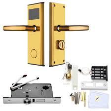 Stainless Steel Intelligent RFID Digital Card Key Unlock Hotel Door ...