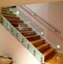 Furniture, Wall Mounted Lighting For Stairs With Glass Railing: Indoor and  Outdoor Wall Mounted