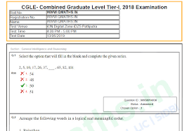 Download Paper Ssc Cgl 2018 Tier 1 Question Papers Pdf Download All
