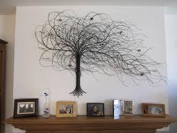 metal tree wall art sculpture wall decoration ideas