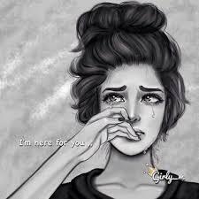 Resultado de imagem para girl sad