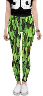 "Леггинсы ""Зеленые <b>цветы</b>"" #2275255 от ZoZo - <b>Printio</b>"