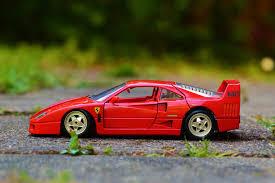 s pexels com photo red sports car miniature ferrari 35964