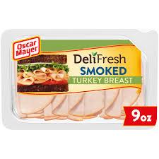 oscar mayer deli fresh smoked turkey