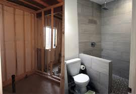 finish a basement bathroom
