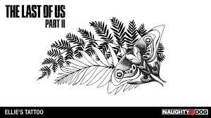 The Last Of Us Part Ii右腕に彫られたエリーのタトゥー衣装