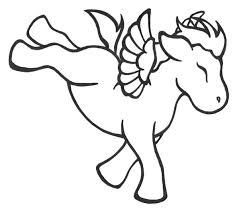 Unicorn Pegasus Coloring Page Free Coloring Pages On Art Coloring