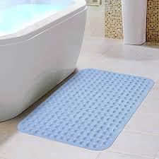 eloki non slip bathtub mats massaging bath and shower pvc anti bacterial anti slip resistant bathtub