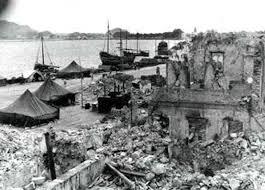 Image result for εικόνες σεισμός κεφαλονιάς 1953