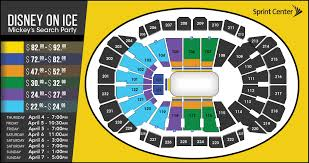 Ice Box Lincoln Ne Seating Chart Disney On Ice Presents Mickeys Search Party Sprint Center