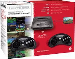 <b>Игровая</b> консоль <b>SEGA Retro</b> Genesis HD Ultra 2 + 50 игр - купить ...