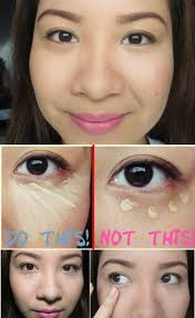 apply concealer in a triangle shape 40 diy beauty hacks that are borderline genius
