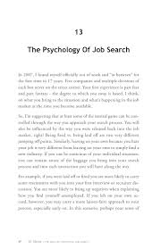 30 ideas of successful job search the psychology of job search 54
