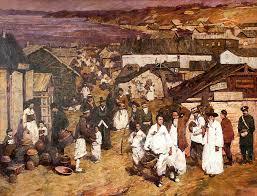 Галерея Арт Владивосток › Дальневосточная Государственная  Голованова Анна Корейская слобода