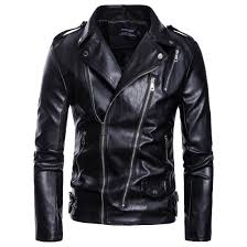 2019 mens leather jacket motorcycle clearance jacket young men slim fit double zipper blazers for boys plus size from aaronliu880 55 84 dhgate com