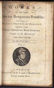 vialibri          rare books from works of the late doctor benjamin franklin  consisting of his life written by himself  together with essays  humorous  moral  amp  literary  chiefly in the