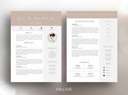 Cv Resume Cv Resume Template Ella By Resume Templates Dribbble Dribbble