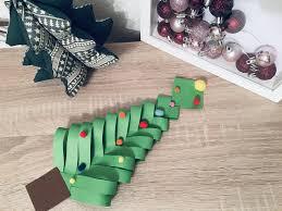 Weihnachtsbaum Aus Papier Mit Kindern Basteln Der