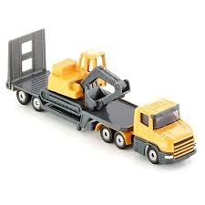 SIKU <b>Truck</b> Toy <b>Alloy</b> Excavator Model Vehicle Trailer Engineering ...