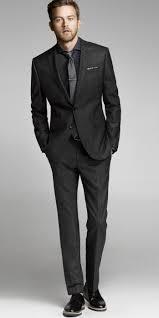 Black Suit Light Grey Tie Express Mens Windowpane Charcoal Suit Black Suit Men