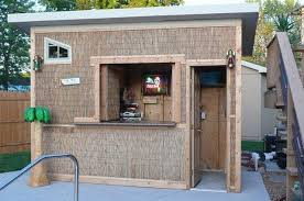 Other Pool House Tiki Bar Stylish Intended For Other Pool House Tiki