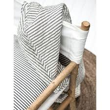 Black and Cream Ticking Quilt – The Rounded House & Black and Cream Ticking Quilt Adamdwight.com
